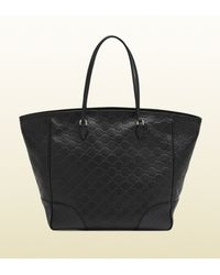 Gucci | Black Bree Ssima Leather Tote | Lyst