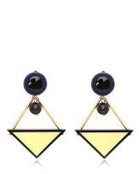 Marni | Blue Winter Edition Earrings | Lyst