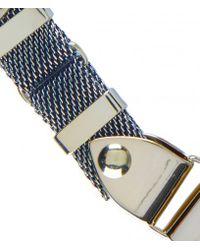 AllSaints | Metallic Anouk Mesh Necklace | Lyst