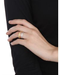 BaubleBar - Metallic Crystal Stud Ring Trio - Lyst