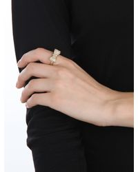 BaubleBar - Metallic Gold Bow Ring - Lyst