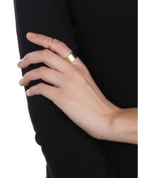 BaubleBar | Metallic Gold Classic Cigar Band | Lyst