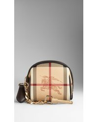 Burberry - Brown Haymarket Check Coin Purse - Lyst