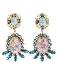 DANNIJO - Pink Paz Earrings - Lyst