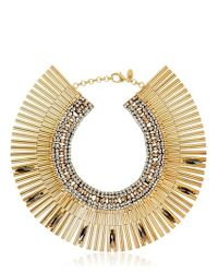 Iosselliani | Metallic Tribal Deco Necklace | Lyst
