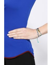 La Mome Bijou - Multicolor Someone To Love Plaited Bracelet - Lyst