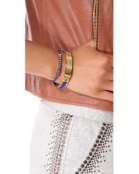 Marc By Marc Jacobs - Blue Multi Bolt Friendship Bracelet - Lyst