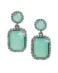 BaubleBar | Metallic Teal Barion Drops | Lyst