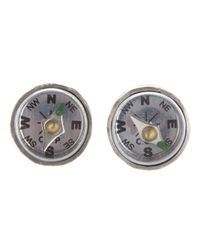 Carol Christian Poell - Metallic Compass Earrings - Lyst