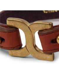 Chloé - Brown Marcie Leather Bracelet - Lyst