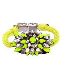 Shourouk | Yellow 'baraka Sierra' Bracelet | Lyst