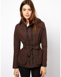 ASOS | Brown Coopers For Rust Wax Twin Track Jacket | Lyst