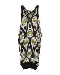 Jeremy Scott for adidas - Black Short Dress - Lyst