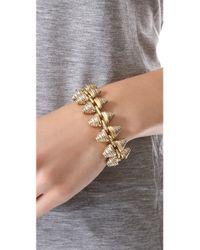 Madewell | Metallic Engraved Stud Bracelet | Lyst
