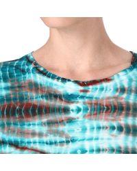 Proenza Schouler - Blue Tiedye Tshirt - Lyst