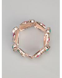 Anton Heunis | Metallic Swarovski Crystal Bracelet | Lyst