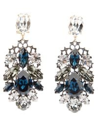 Anton Heunis | Metallic Swarovski Crystal Earrings | Lyst