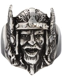 ASOS - Viking Warrior Ring - Lyst