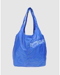 Gas - Blue Large Fabric Bag - Lyst