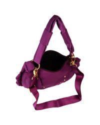 Blue Les Copains - Purple Shoulder Bag - Lyst