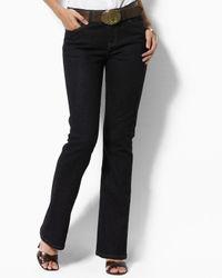 Pink Pony | Black Lauren Tanya Straight Leg Jeans In Nolita | Lyst