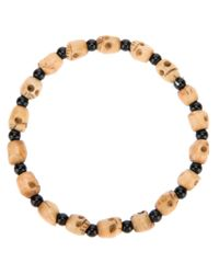 Chan Luu | Black Onyx and Skull Bead Necklace for Men | Lyst