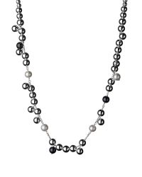 Links of London | Black Effervescence Pearl Necklace | Lyst