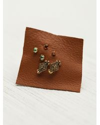 N/a | Multicolor Tiny 6 Pack Studs | Lyst