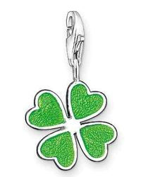 Thomas Sabo | Charm Club Green Clover Leaf | Lyst