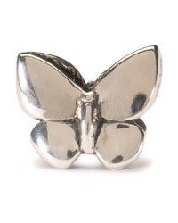 Trollbeads | Metallic Fantasy Butterfly Pendant | Lyst