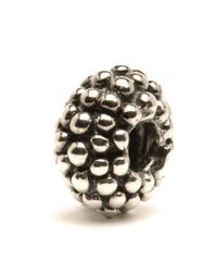 Trollbeads | Metallic Large Berry Silver Charm Bead | Lyst