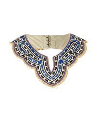 Biba   Multicolor Cleopatra Bead Collar   Lyst