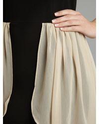 Glamorous | Beige Hi Low Chiffon Dress | Lyst