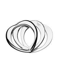 Links of London   Metallic Love Note White Sapphire Ring   Lyst