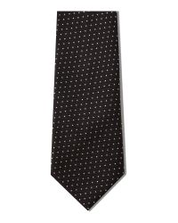 Paul Smith | Black Naked Lady Pin Dot Tie for Men | Lyst