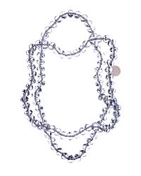 Ted Baker   Multicolor Miaa Transparent Faceted Bead Necklace   Lyst