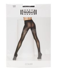 Wolford | Black Collier Tights | Lyst