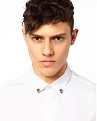 ASOS | Metallic Cross Earrings for Men | Lyst