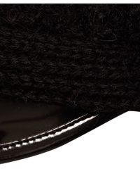 Bernstock Speirs - Black Mohair Rome Hat - Lyst