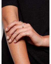 Five And Two | Metallic Sterling Silver Tidal Ring | Lyst