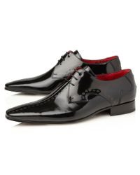 Jeffery West - Black J490 Suit Of Cards Leather Shoes for Men - Lyst