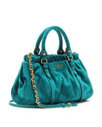 Miu Miu | Blue Mini Handbag | Lyst