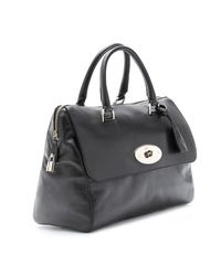Mulberry | Black Del Rey Leather Tote | Lyst