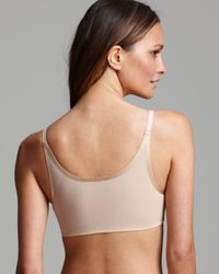 Spanx - Black ® Bra - Bra-Vo! Deep Plunge With Mesh Back #1489 - Lyst