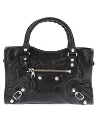 Balenciaga | Black Classic City Leather Bag | Lyst