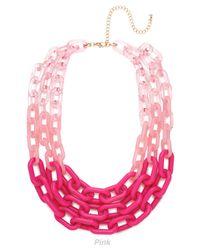 BaubleBar | Pink Marine Contessa Bib | Lyst