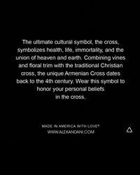 ALEX AND ANI - Metallic Armenian Cross Bangle - Lyst