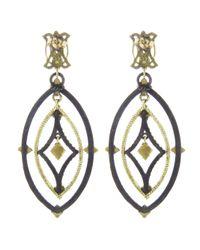 Armenta - Gray Open Midnight Dulcinea Earring - Lyst