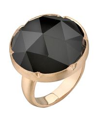 Irene Neuwirth - Metallic Rose Cut Onyx Ring - Lyst
