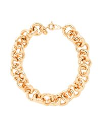 J.Crew | Metallic Classic Link Necklace | Lyst